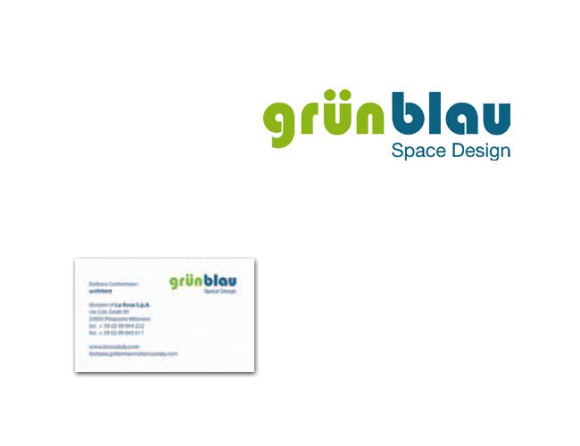 GRÜN BLAU Logo