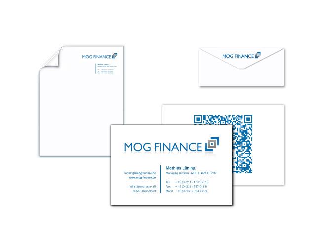 MOG FINANCE Stationary