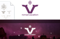 Roman Vacation Logo