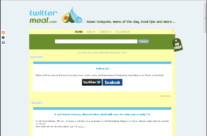 Twittermeal Website