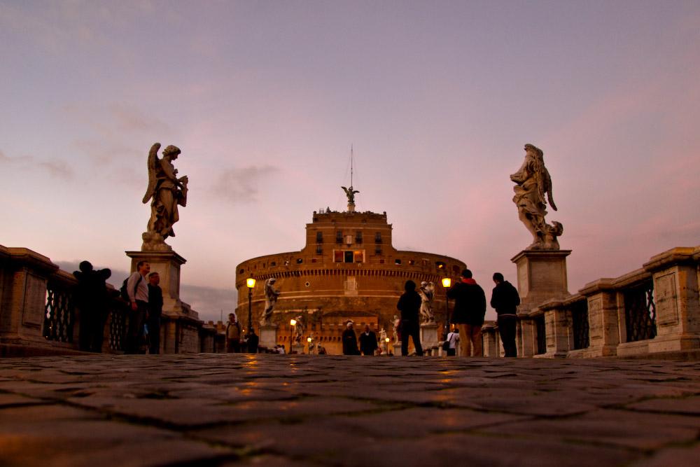 Castel Sant'Angelo@Dawn